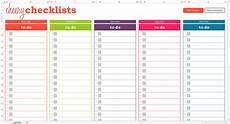 Shopping Checklists How To Use The Cheery Checklists Savvy Spreadsheets