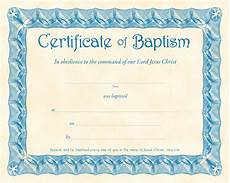 Christening Certificate Error