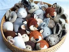 isn t this just the cutest of knitted woodland