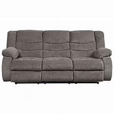 Signature Design By Tulen Gray Reclining Sofa And Loveseat Signature Design By Tulen Contemporary Reclining