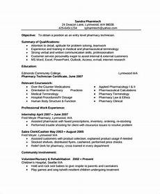 Pharmacy Resume Pharmacist Resume Template 6 Free Word Pdf Document