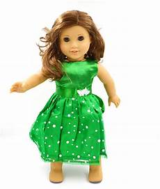 cheap american doll clothes wholesale new green dot doll dress handmade doll clothes