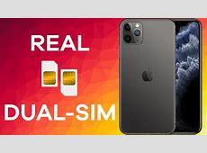 The Dual SIM iPhone   11 Pro Max (How it Works)   YouTube