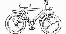malvorlage fahrrad