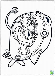 octonauts coloring page coloring home