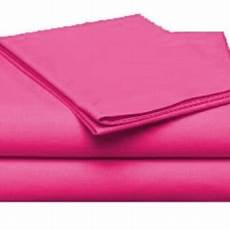 xl soft microfiber single bed sheet set pink
