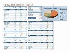 Excel Household Budget Budgets Office Com
