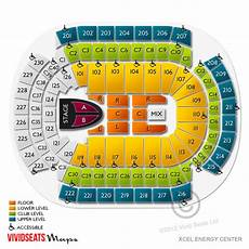 Xcel Energy Center Interactive Seating Chart Xcel Energy Center Tickets Xcel Energy Center