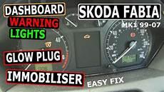 Skoda Fabia Oil Warning Light Skoda Fabia 99 07 Dashboard Warning Lights Fix Common
