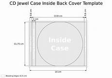 Dimensions Of Cd Case Cooper Cd Cover Template