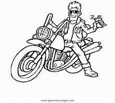 chopper 2 gratis malvorlage in motorrad transportmittel