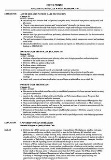 Pct Resume 14 15 Dialysis Technician Resume Sample Southbeachcafesf Com