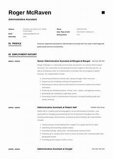Administrative Assistant Resume Samples Full Guide Administrative Assistant Resume 12 Samples