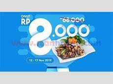 Promo Ta Wan Menu Nasi Ayam Kung Pao Rp8.000 Dengan Dana