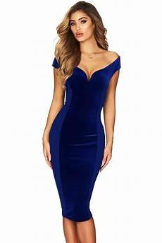 show hourglass figure navy shoulder dress wholesale
