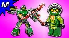 lego nexo knights battle suit aaron 70364 speed build