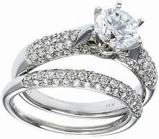 gold diamond wedding ring set deal