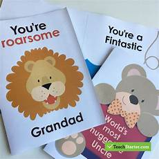 Day Cards Templates Editable Cards For Father S Day Teach Starter Blog