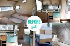 caravan makeover before caravanity