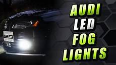 Audi A4 B8 Led Lights Retrofit How To Install Audi A4 S4 Led Fog Lights Dragon Ledz