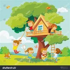 Children Playing Background Illustration With Summer Background Children Playing And