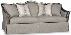 textured slate grey sofa with curved back