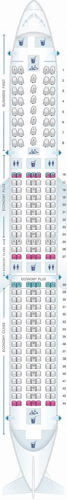 Boeing 767 400 Seating Chart Seat Map United Airlines Boeing B767 400er 764 Seatmaestro