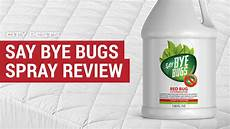 saybyebugs reviews water based bed bug spray where to buy