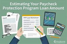 paycheck estimator 2020 estimating your paycheck protection program loan amount
