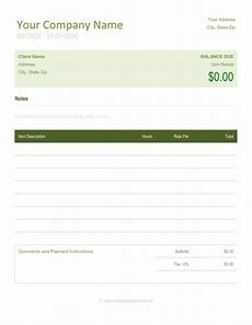 Word Invoice Sample 5 Best Freelance Invoice Templates Word Excel