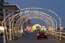 Boardwalk Lights At Virginia Beach Virginia Beach Virginia Lights Up The Boardwalk For Quot 100