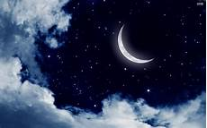 Moon And Stars Design Moon And Stars Desktop Wallpaper 63 Images