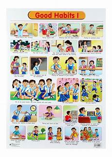 Good Habits Chart For School Buy Dreamland Good Habits Chart 1 Online In India