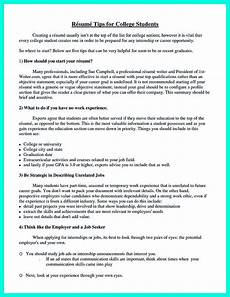 What To Include In A College Resume The Perfect College Resume Template To Get A Job
