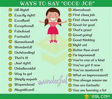 Good Another Word Good Job Synonym 99 Ways To Say Good Job In English 7 E S L