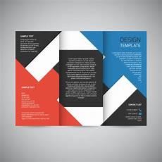 Free Brochure Design Trifold Brochure Design Free Vector