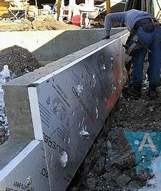 Insulating Concrete Block Walls Calgary Cost Of Garage Construction Concrete Projects