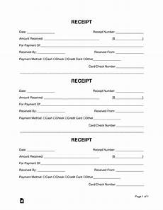 How To Make A Receipt Book Receipt Book Templates Print 3 Receipts Per Page