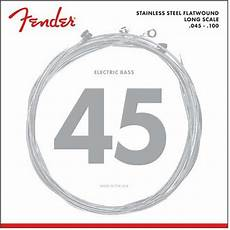 Light Gauge Flatwound Guitar Strings Fender Flatwound 9050 Electric Bass Guitar Strings 045 To