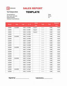 Sales Reports Excel Sales Report Templates 10 Monthly And Weekly Sales