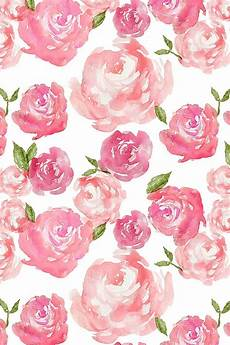flower wallpaper watercolor watercolor floral by laurapol bold painted roses in