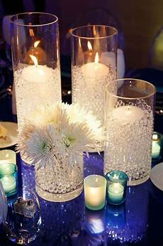 Fairy Lights In Glass Cylinder Picasso Calla Lilies In Cylinder Vases With Fairy Lights