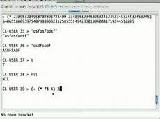 Lisp Programming An Brief Introduction To Lisp Pt 1 Syntax Youtube