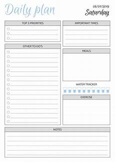 Downloadable Daily Planner Free Printable Dated Daily Planner With To Do List Pdf