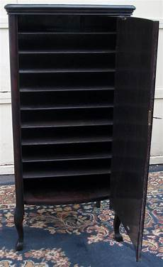 mahogany sheet and record cabinet ebay