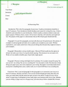 How To Format A Essay In Mla Mla Style Sample Essay Format Www Mrsnayla Com With
