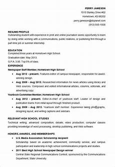 Sample Resume For High School Students Microsoft Word Resume Template 57 Free Samples