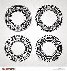 Polynesian Design Circle Set Of Polynesian Circle Designs Photo 5