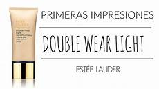 Maquillaje Estee Lauder Double Wear Light Review Maquillaje Double Wear Light Estee Lauder Youtube