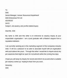 Inquiry Letter Template Free 8 Inquiry Letter Templates In Ms Word Pdf